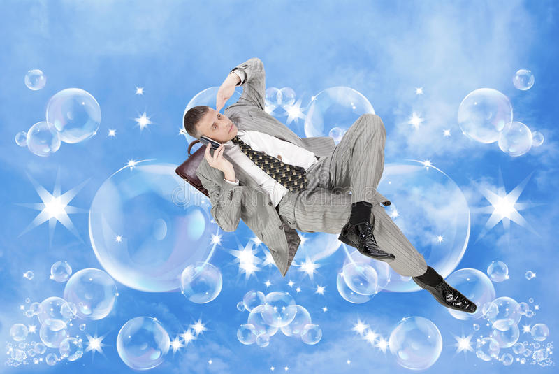 Download Dreams In Financial Business Stock Image - Image of economics, person: 21148463