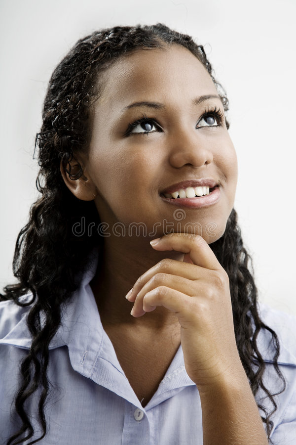Download Dreams for the future stock photo. Image of female, decent - 4395222