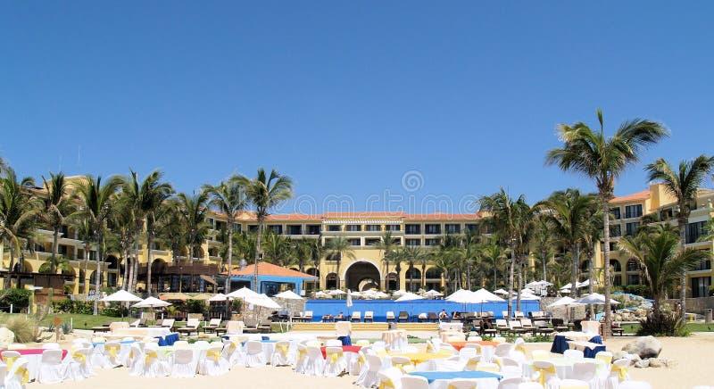 Dreams Los Cabos Suites Golf Resort and Spa in Mexico. Dreams Los Cabos Suites Golf Resort and Spa in Los Cabos, Mexico. Destination wedding stock photos