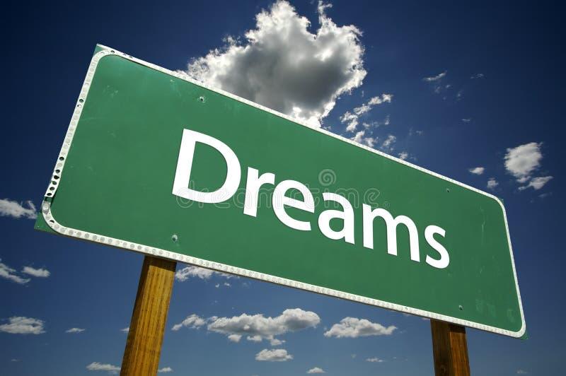 Download Dreams Road Sign stock image. Image of crossroads, desire - 5840193
