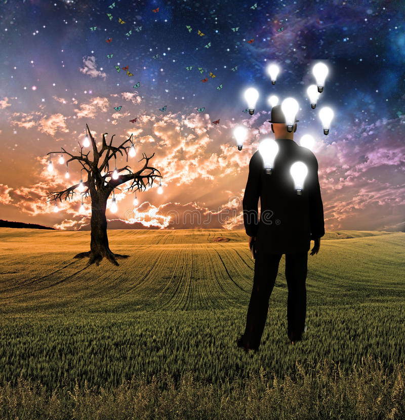 Dreamscape ilustración del vector