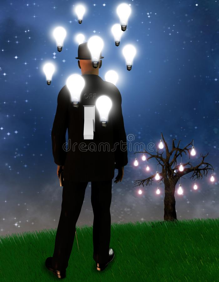 Dreamscape stock illustrationer