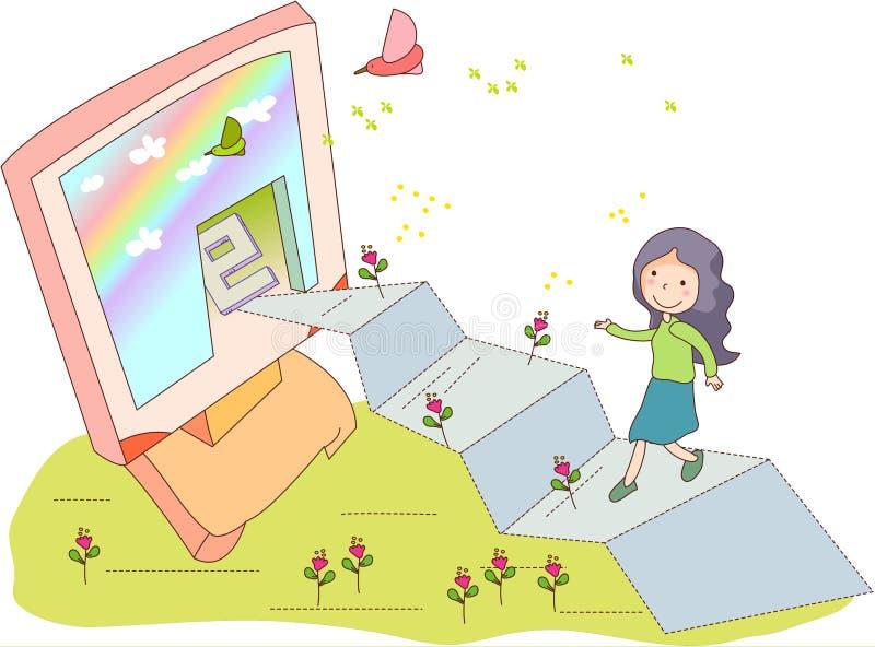 Dreamseries45 ilustração stock
