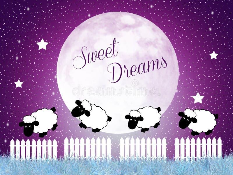 Dreamss doux illustration libre de droits