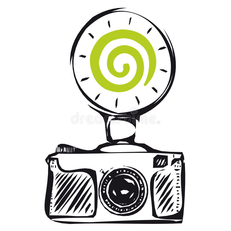 Dreamstime flash (vector) royalty free stock image