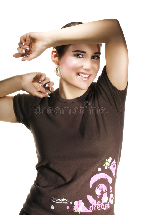 Free Dreamstime T-shirt Royalty Free Stock Images - 7243819