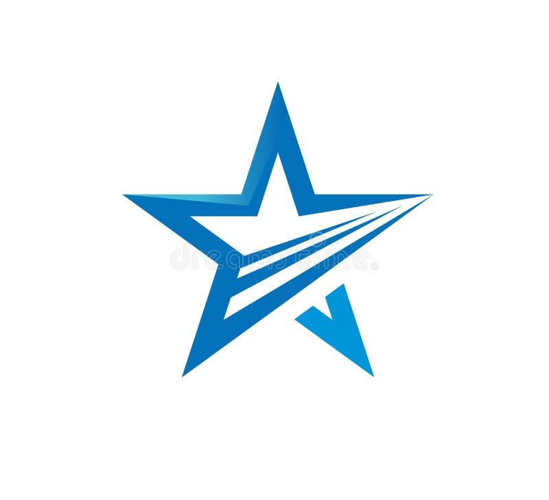 Star loop abstract new modern logo vector vector illustration