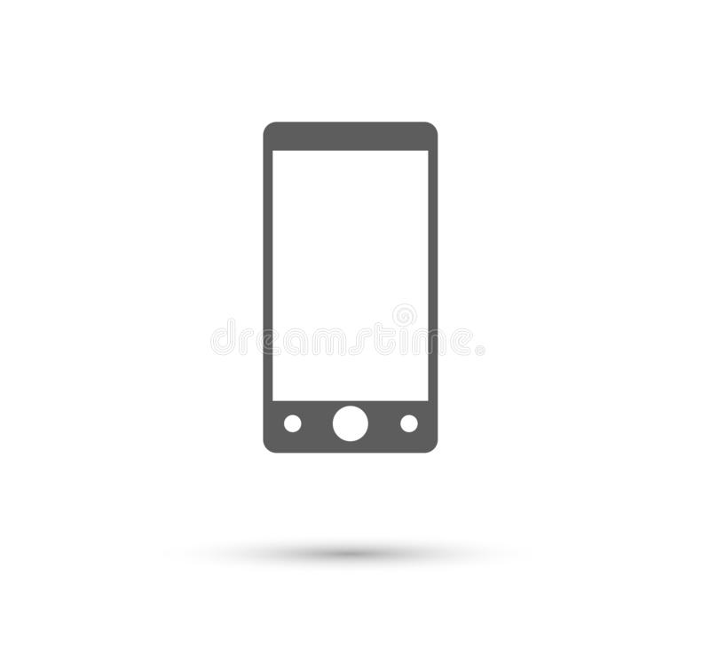 Mobile phone icon. new trendy Element of web icon for mobile concept and web apps. royalty free illustration