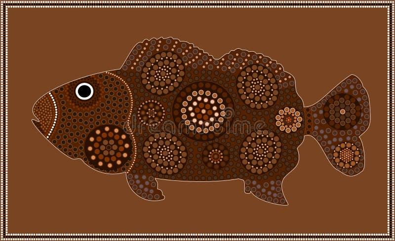 dreamtime ryba ilustracja wektor