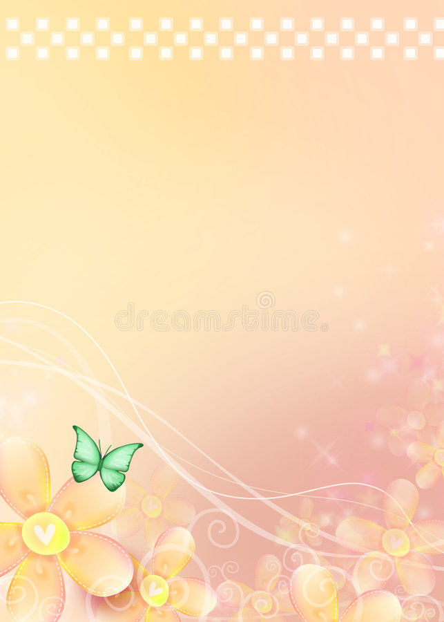 Download Dreamy Background stock illustration. Image of flower - 5512352
