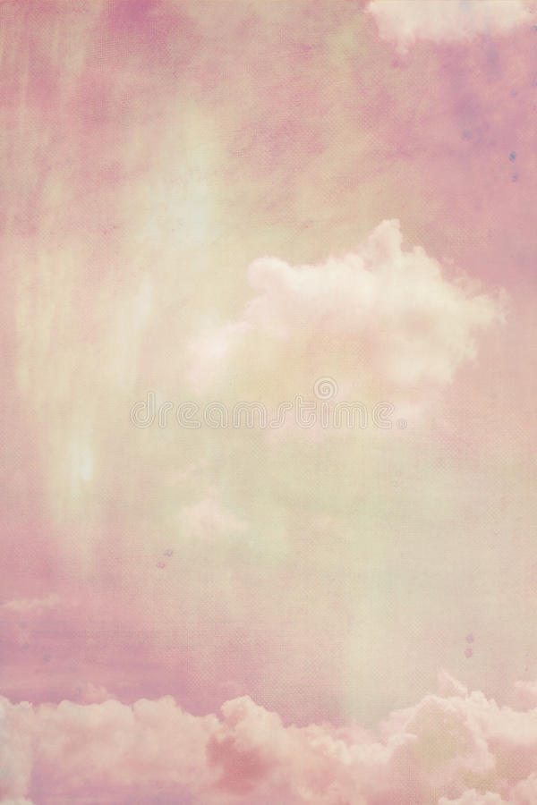 Dreamy backgrounds with clouds stock photos