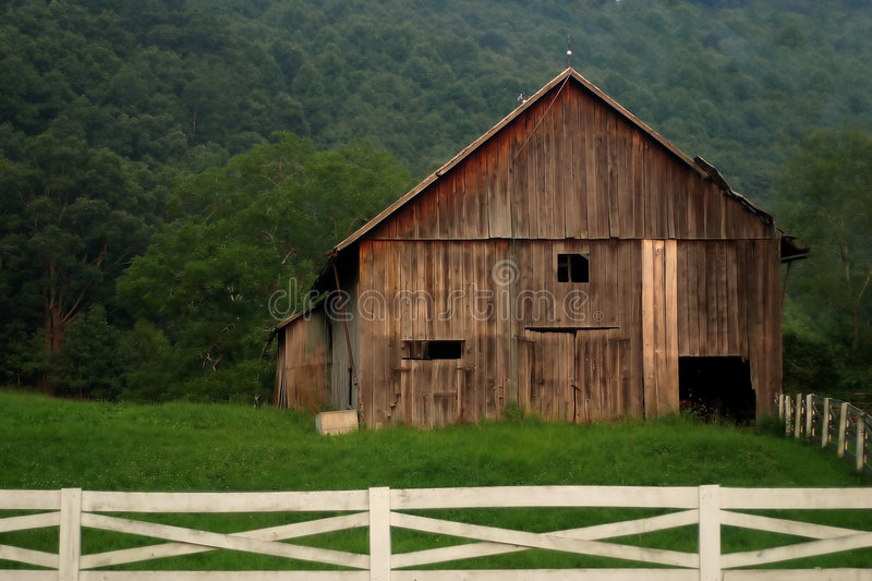 Download Dreamy Barn stock image. Image of rundown, abandoned, pasture - 213947