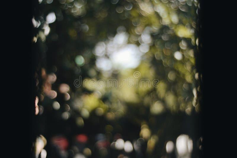 Dreamy blurry bokeh fotografia stock libera da diritti