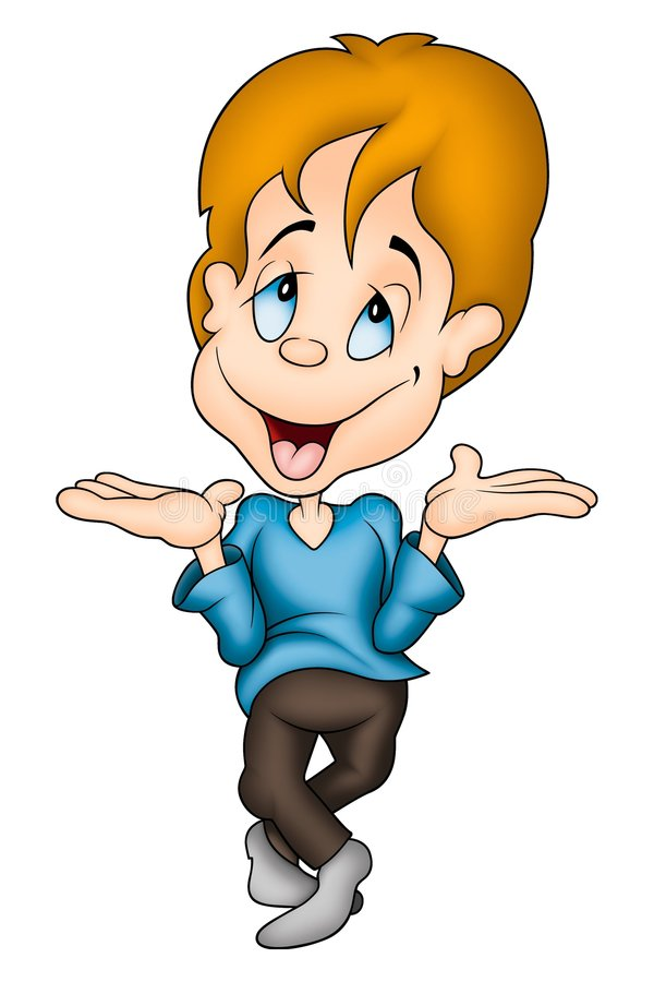 Download Dreamy boy stock illustration. Image of human, clipart - 2003236