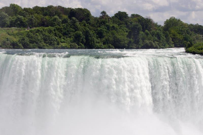 Dreamy close up of Niagara Falls stock photo