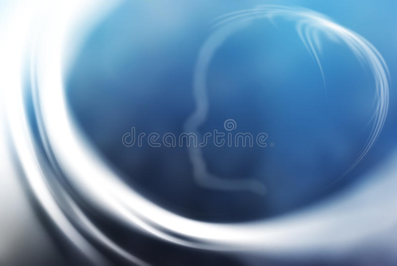 Dreamy glowing abstract background. Soft blue dreamy glowing abstract background stock illustration
