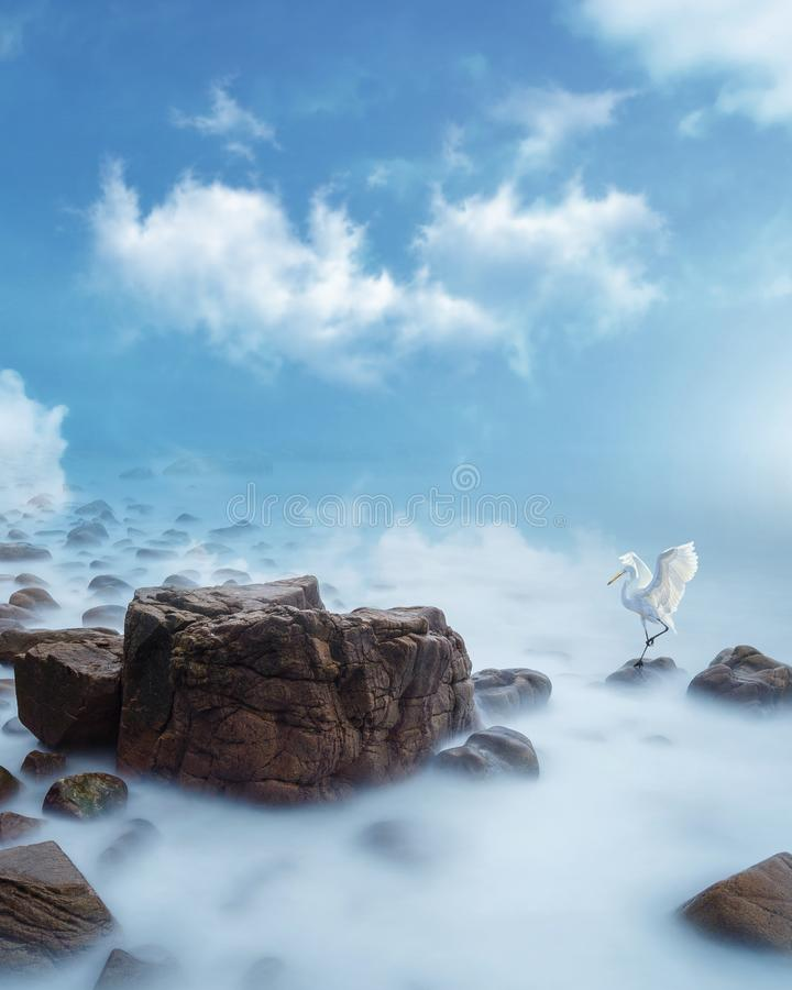 Download Dreamy Landscape stock photo. Image of cloudy, mineral - 37017384