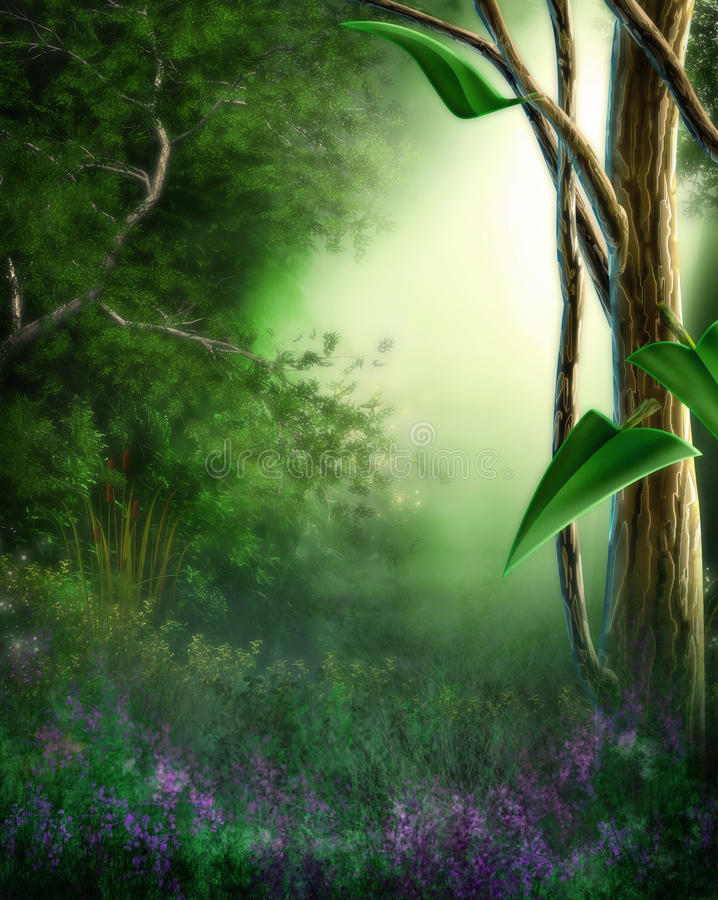 Download Dreamy Landscape stock illustration. Illustration of artistic - 31011996