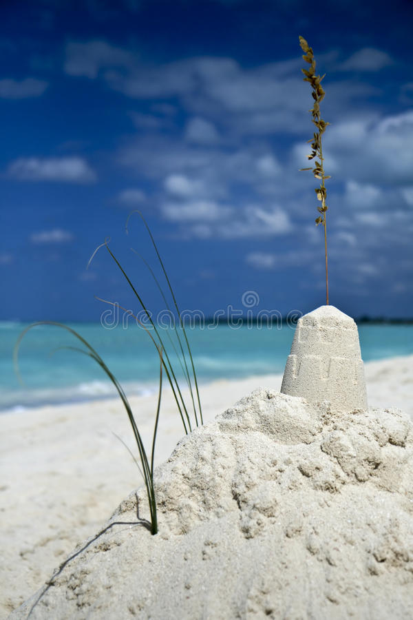 Free Dreamy Sandcastle Stock Photography - 14055962