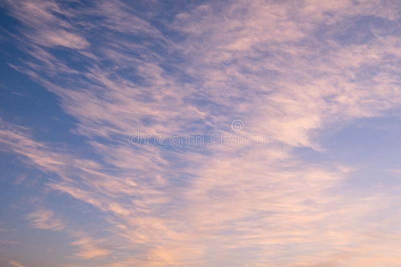 Sunset sky texture for background. Dreamy sunset sky texture for background royalty free stock photos