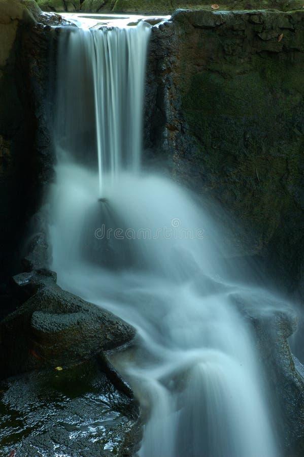 Dreamy Waterfall on Island of Ko Samui, Thailand. royalty free stock photography