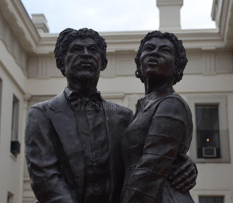 Dred Scott et Harriet Robinson image stock