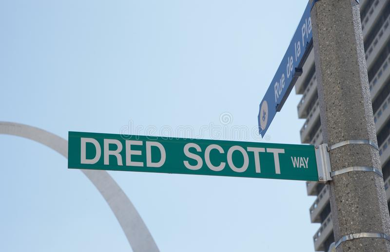 Dred Scott Way foto de stock royalty free