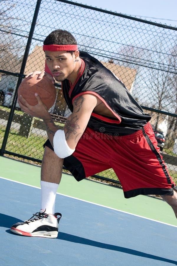 dregla spelare för basket arkivfoton