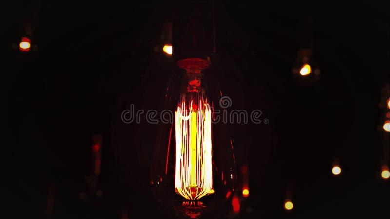 Drehen der Lampe lizenzfreies stockbild