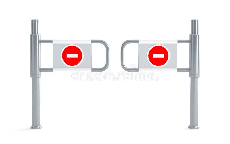 Drehkreuze vektor abbildung