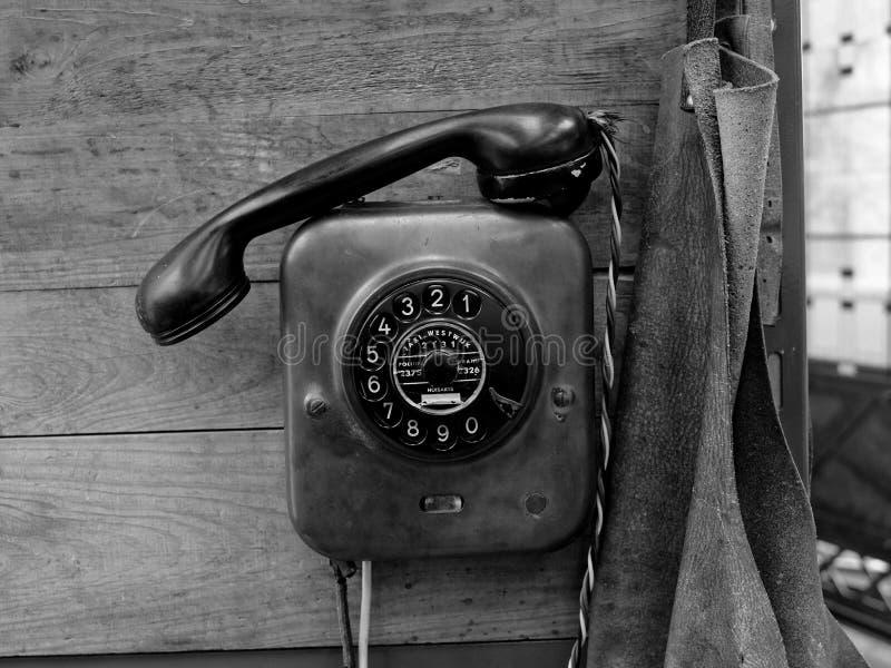 Drehskalatelefon stockbilder