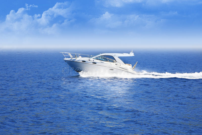 Drehzahlboot lizenzfreies stockbild
