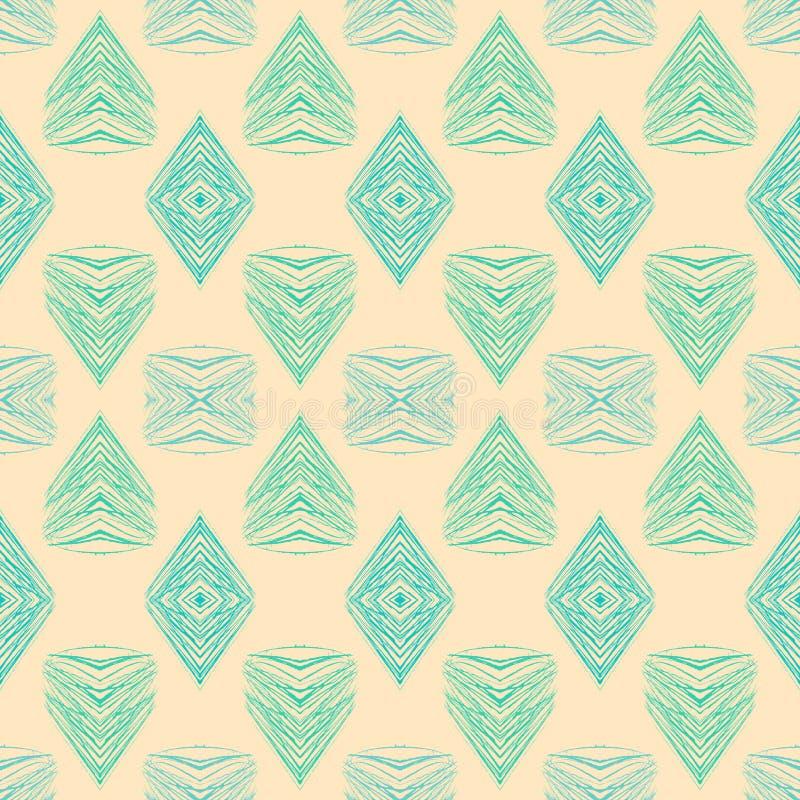 dreißiger Jahre geometrisches Art- DecoMuster lizenzfreie abbildung