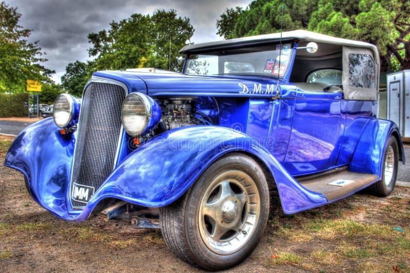 dreißiger Jahre klassische Amerikaner Chevy-Limousine stockfoto