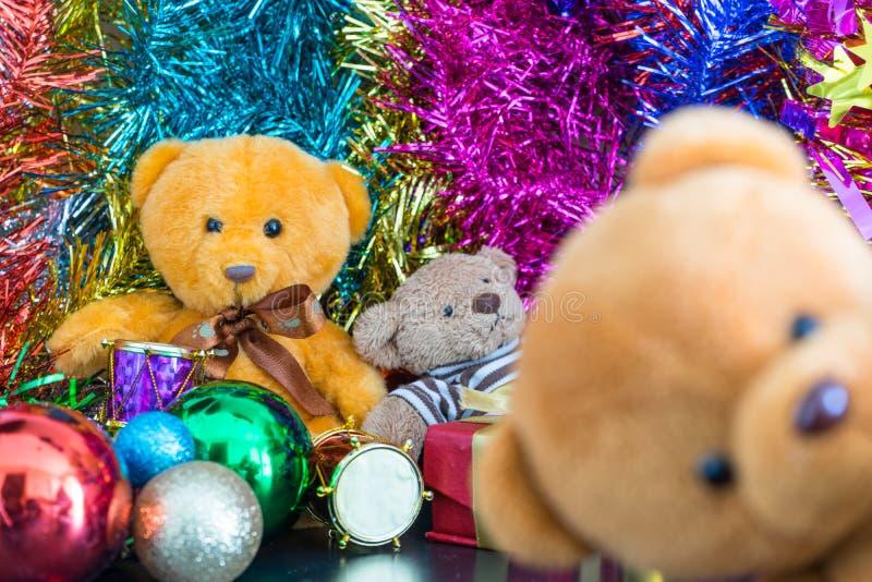 Drei Bärnpuppen stockbilder