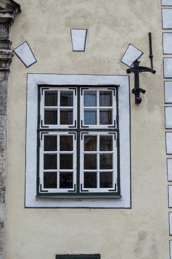 Drei Brudergebäude in der alten Stadt von Riga Lettland stockbilder