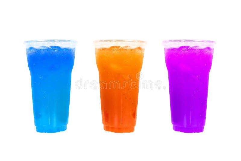Drei Cocktails lizenzfreie stockbilder