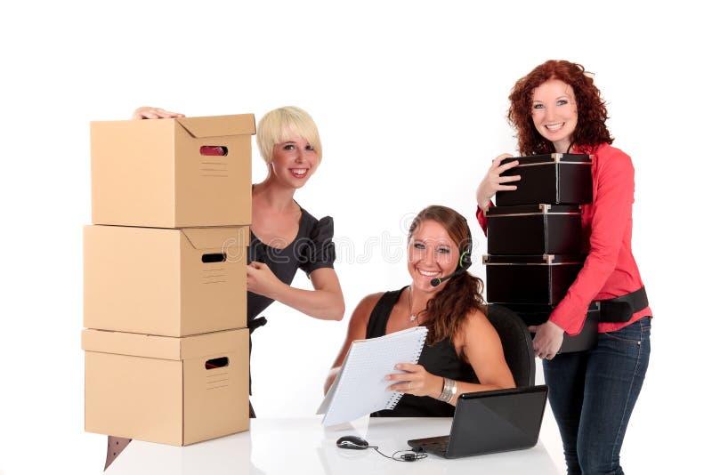 Drei erfolgreiche Geschäftsfrauen lizenzfreie stockfotografie