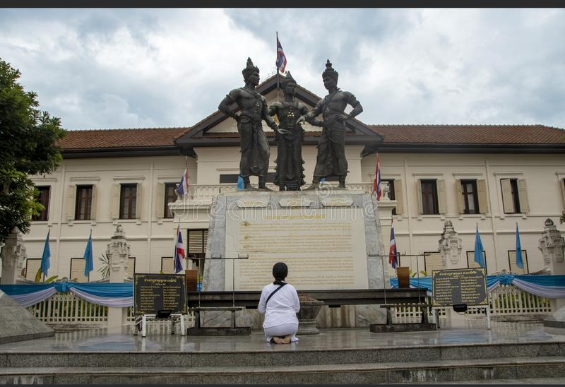 Drei Könige Monument stockfoto