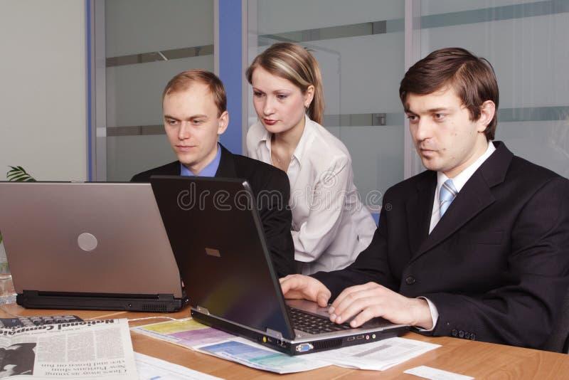 Drei Leute lizenzfreies stockbild
