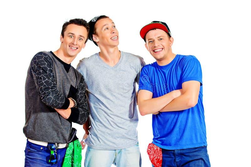 Drei Leute stockfotografie