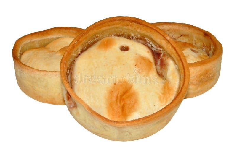 Schottische Fleisch-Torten stockbild