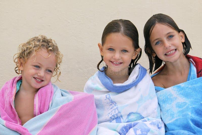 Drei Schwestern stockfotografie