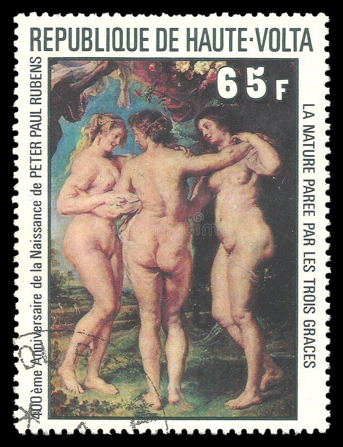 Drei Umgangsformen durch Peter Paul Rubens stockfoto