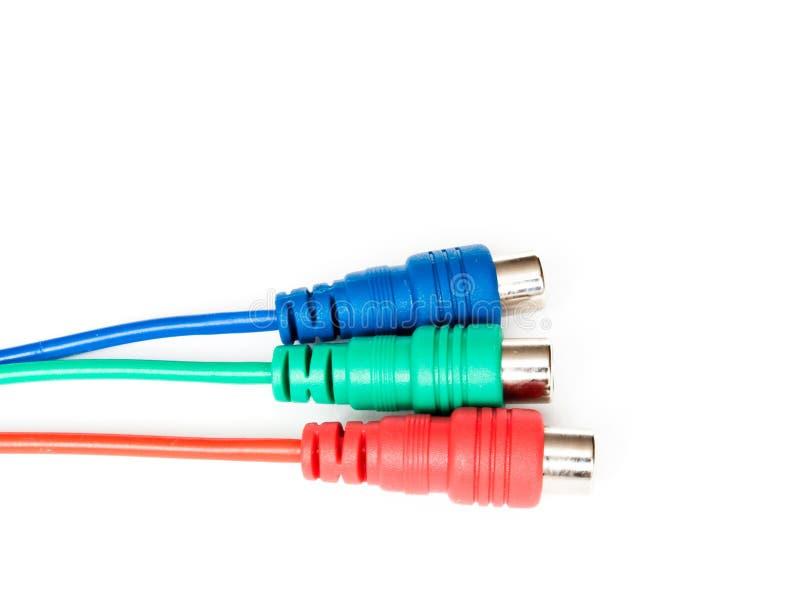 Drei Verbinder lizenzfreies stockfoto