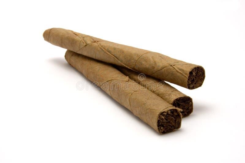 Drei Zigarren 3 stockbild