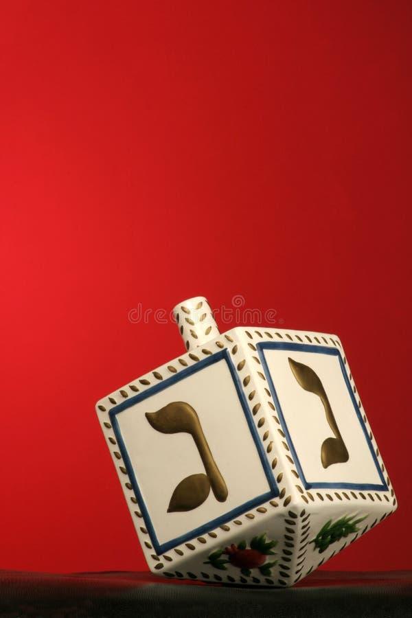 Dreidel de Chanukkah foto de archivo libre de regalías
