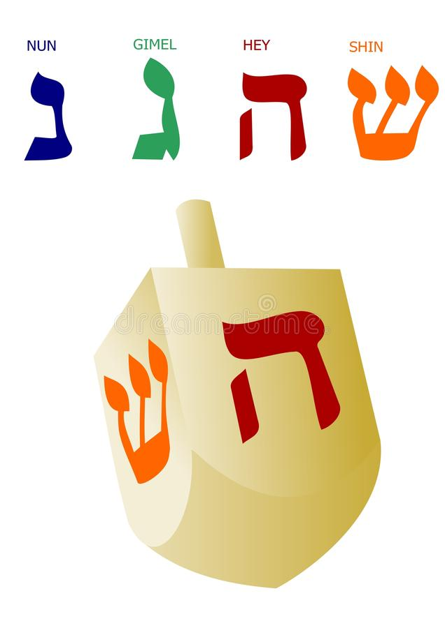 dreidel Hanukkah