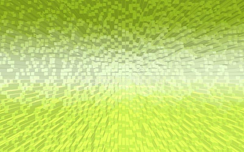 Dreidimensionaler Musterhintergrund lizenzfreie stockfotografie