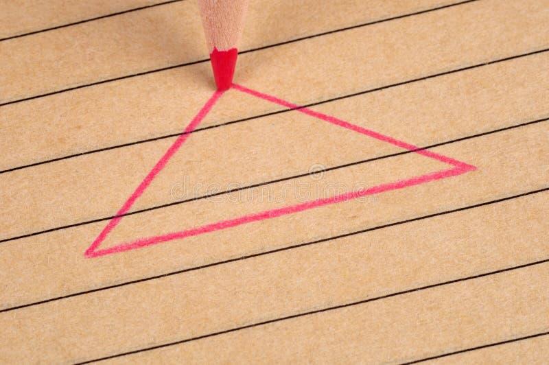 Dreieck. lizenzfreie stockfotografie